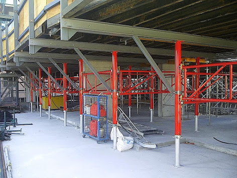 tableforms - horizontal formwork protection screen